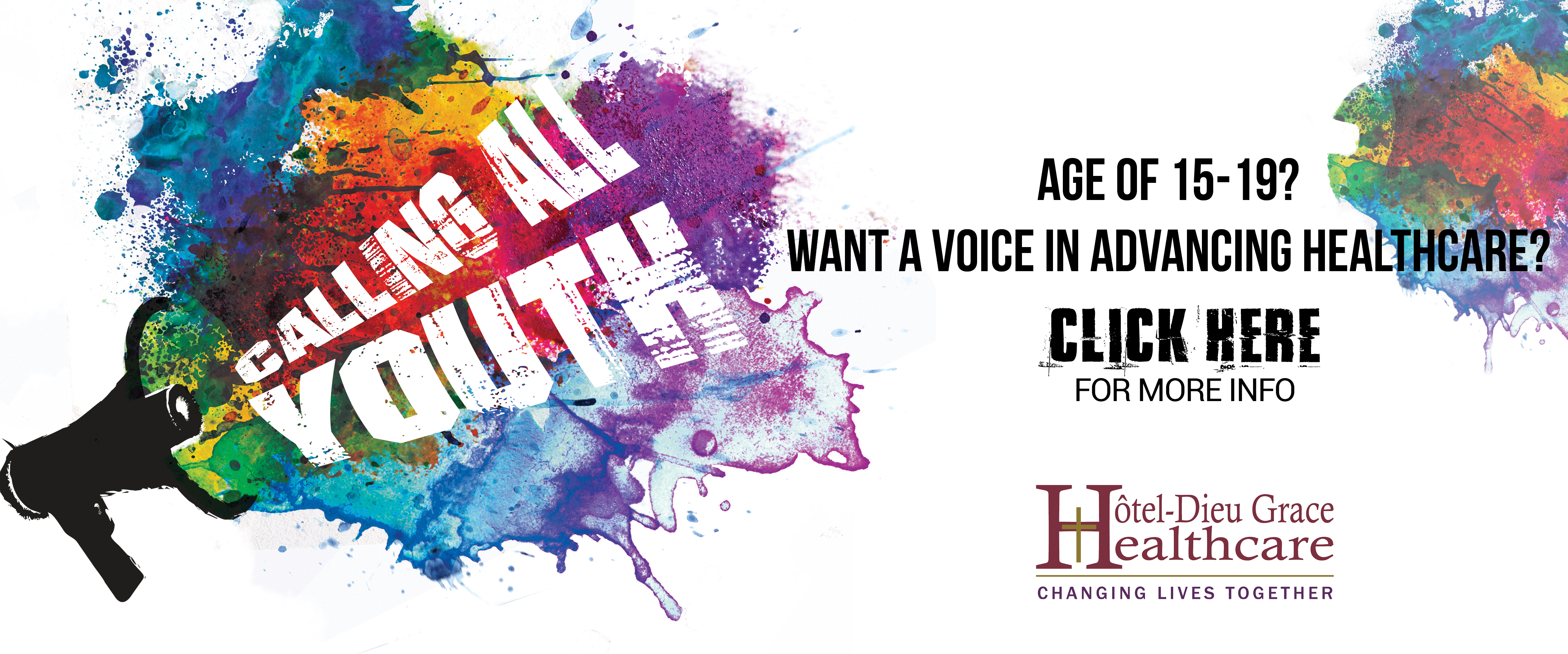 Join the HDGH Youth Advisory Council
