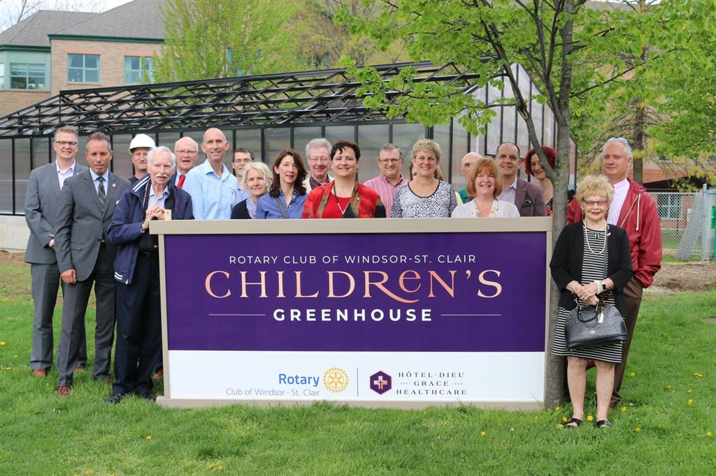 Greenhouse ribbon cutting