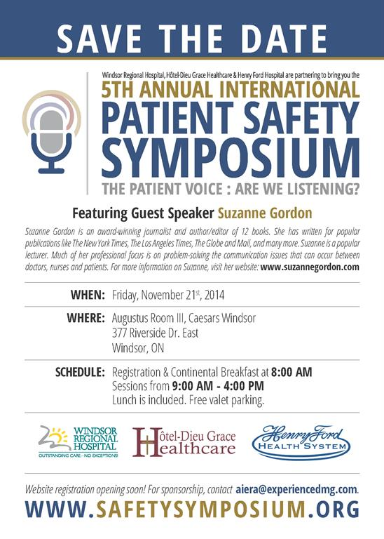safety symposium poster