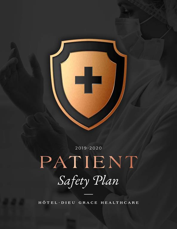 Patient Safety Plan 2019